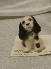 Hagen Renaker Inc Buddy 3389 black and white dog New Made in Usa