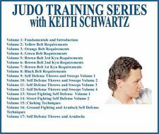 Judo Belt Requirements Series (17) Dvd Set self defense ground fighting choking