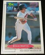 1991 Classic Best Minor League Steve Martin 85 Rookie Padres Mavericks Card NMMT