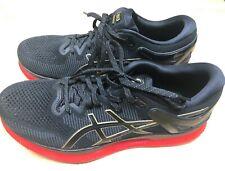 ASICS Running Shoes METARIDE Men's 9.5 Black/Red