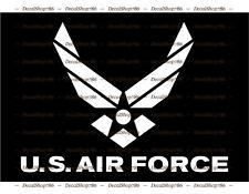 U.S. Air Force - Logo - Vinyl Die-Cut Peel N' Stick Decals/Stickers