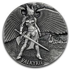 2016 Tokelau 3 oz Silver Max Relief (Legends of Asgard, Valkyrie) - SKU #149414