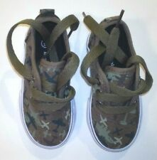 Koala Kids Toddler Boys Camo Airplane Shoes Sneakers Size 6 NEW