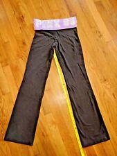 Pink by Victoria's secret women rhinestones 86 sweatpants purple and black XS
