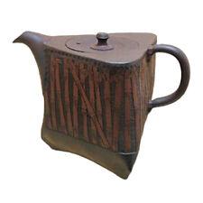Japanese tea pot- SHUN-EN MANO - Bamboo - 300cc/ml - ceramic fine mesh -Tokoname