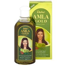 200ml - 7oz Dabur Amla Gold Hair Oil Henna Almond USA Wholesale & Retail