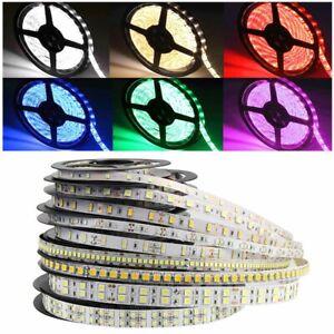 16.4ft LED Strip 3528 2835 3014 5050 5054 5630 5730 7020 SMD Flexible Light 12V