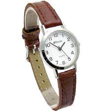 Ravel Ladies Super-Clear Easy Read Quartz Watch White Face R0102.12.2A