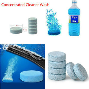 10X Car Window Windshield Cleaner Concentrate Effervescent Tablets Cleaning Tool