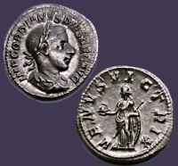 Archaios | Roman Gordian III AR Denarius Venus Victrix | Inv#21.4