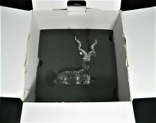 "Swarovski Scs Crystal Inspiration Africa #175703 ""The Kudu"" 1994 Original Box"