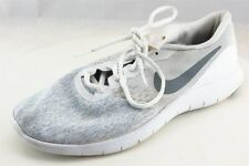 Nike Flex Contact  Running Shoes White Synthetic Women9Medium (B, M)