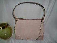 Michael Kors Nicole Medium Shoulder Handbag Blossom Leather Suede Bag