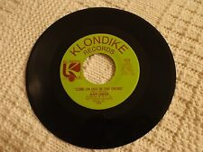 MEMPHIS  NORTHERN SOUL JUDY GREEN COME ON OUT OF THE CROWD/I CAN'T  KLONDIKE