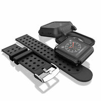 For Apple Watch Series 3 Waterproof Case with Soft Band 42mm