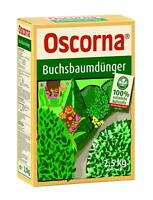 OSCORNA Buchsbaumdünger 2,5 kg NPK 6-4-0,5