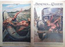 LA DOMENICA DEL CORRIERE 24 maggio 1959 Avventura a Lainate Salvato dallo squalo