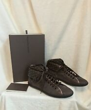 80b0dbfb31c8 NEW Louis Vuitton Brown Monogram Leather Ankle Boot Shoes EURO 38.5