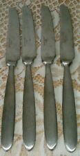 4 Butter Knives Cambridge Townhouse Stainless Steel Flatware Heavy Silverware