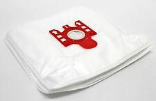 10 Bolsas de Microfibra Ajuste Miele S4210 S 4210 S4211 S 4211 S570 S 570 rojo de vacío