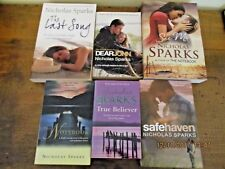 ~NICHOLAS SPARKS x 6 - SEE ME, SAFE HAVEN, DEAR JOHN, THE LAST SONG + 2-ALL GC~