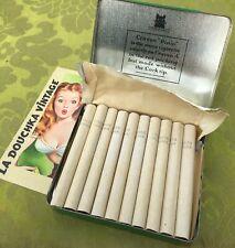 CRAVEN 1930s PLAIN VIRGINIA CIGARETTES~ 20 ~SEALED GREEN TIN BOX~MADE IN ENGLAND