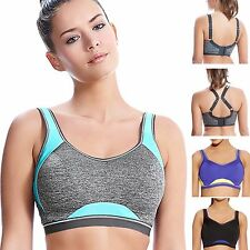 Freya Active Epic (4004) Underwired Moulded Crop Top Sports Bra 30-40, DD-H Cups