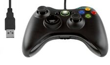 Negro USB Controlador Gamepad estilo de Xbox 360 Pc Notebook Laptop Windows ganar