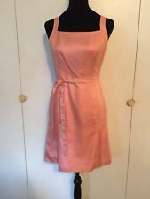 Ann Taylor Light Coral Summer Dress Size 2P Fully Lined