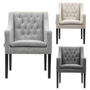 Linen Upholstered Chair Chairs For Sale Ebay