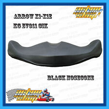 GO KART NOSECONE BLACK X1 X1E EARLY X2 CIK 11 EVO STYLE FREE DELIVERY NEW