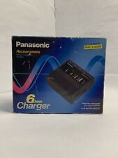 Panasonic Bq-8c NiCad Rechargeable Battery Charger for AA AAA C D & 9v