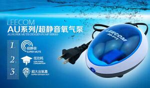 Ultra Silent Aquarium Air Pump Fish Tank High Energy Efficient Oxygen Gas pump