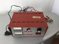VINTAGE#GT MODELS MERATI CARICABATTERIA TC 230 4 AMP ELECTRONIC BATTERY CHARGERS