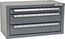 "Huot  Fractional Drill Dispenser 1/16"" to 1/2"" x 64ths"
