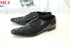 """Excellent Condition"" Prada Glossy Leather Butcher 1 2EB 022 US Size 10"