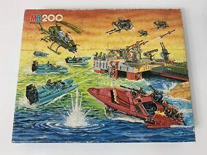 GI Joe Vintage 200 Piece Puzzle Milton Bradley 1986 Cobra Action Force