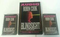 AUDIO BOOK CASSETTE - Robin Cook Blindsight Read By Lindsay Crouse 1992 X2 Tapes