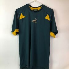 Rugby Springboks Official Licensed Jersey Large Active wear nice!! T shirt style