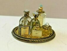 Vanity Tray with Bottles 1:12 Dollhouse Miniature