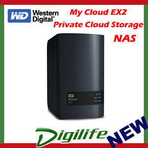 WD My Cloud EX2 Ultra Personal Cloud Storage 0TB Diskless NAS