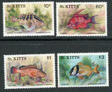 St Kitts 1991 Fish complete UM/MNH