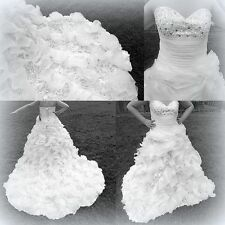 Unbranded Strapless A-line Sleeveless Wedding Dresses