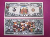 Celebrating Oktoberfest BEER ~ $1,000,000 One Million Dollar Bill: United States