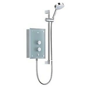 Mira Azora 9.8kW Frosted Glass Thermostatic Electric Shower