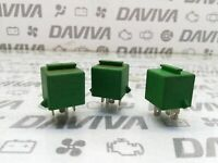 3x Land Rover Discovery Rover Multi Function Purpose User Relay Green YWB10032