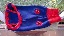 DOG JUMPER, KAZOO, WINTER WARMTH, EX PET SHOP FLOOR STOCK,CLEARANCE 20% OFF RRP