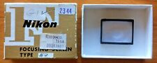 Vintage Nikon F Focusing Screen Type G1 with Box