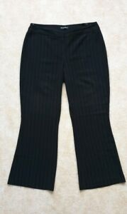 🌺 Planet bkack pin-striped office trousers 12