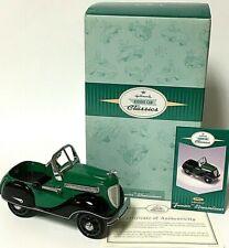 Hallmark Kiddie Car Classics Limited 1937 Steelcraft Junior Streamliner Green